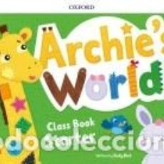 Libros: ARCHIES WORLD STARTER. CLASS BOOK PACK. Lote 217980505