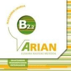 Libros: ARIAN B2.2 IKASLEAREN LIBURUA (+CD AUDIOA). Lote 218364952