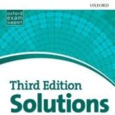 Libros: SOLUTIONS 3RD EDITION ELEMENTARY. WORKBOOK. Lote 218373445