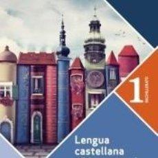Libros: LENGUA CASTELLANA Y LITERATURA 1º BACHILLERATO. PROYECTO A PIE DE PÁGINA.. Lote 218373553