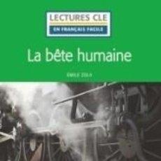 Libros: LA BÊTE HUMAINE - NIVEAU 3/B1 LIVRE + AUDIO TÉLÉCHARGEABLE. Lote 218373683