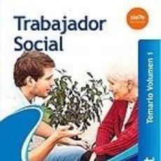 Libros: TRABAJADORES SOCIALES DEL SERVICIO DE SALUD DE LAS ILLES BALEARS (IB-SALUT). TEMARIO VOLUMEN 1. Lote 218384227