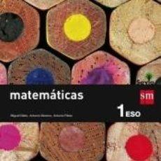 Libros: MATEMÁTICAS, 1 ESO, SAVIA. Lote 218384278