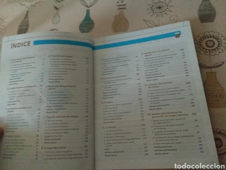 Libros: Operaciones administrativas de recursos humanos. Administración y gestión. Editex 2012. Lacalle - Foto 4 - 219137401