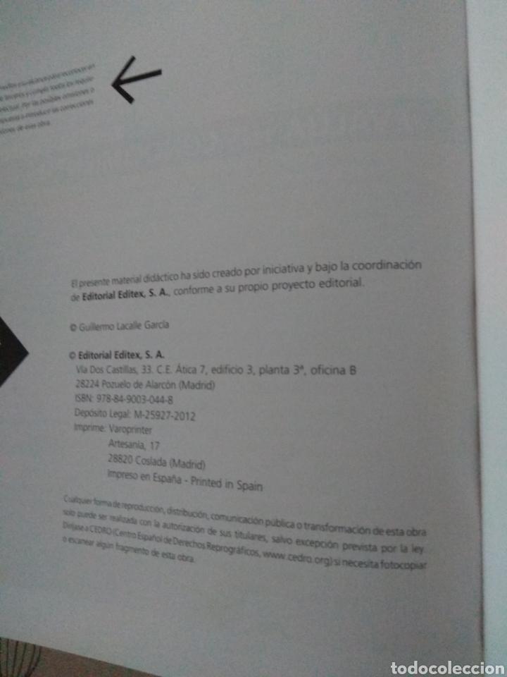 Libros: Operaciones administrativas de recursos humanos. Administración y gestión. Editex 2012. Lacalle - Foto 9 - 219137401