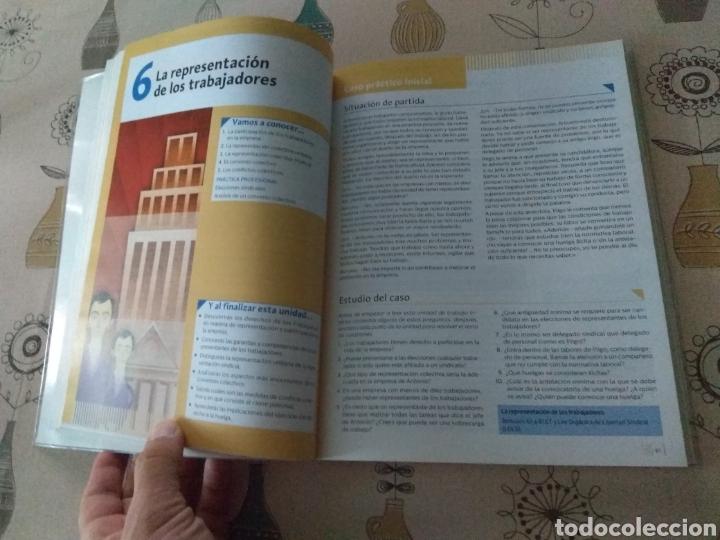 Libros: Formación y orientación laboral. Editex 2014. Ciclos formativos grado medio - Foto 5 - 219223032