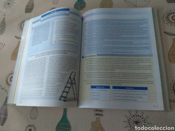 Libros: Formación y orientación laboral. Editex 2014. Ciclos formativos grado medio - Foto 7 - 219223032