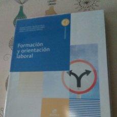 Libros: FORMACIÓN Y ORIENTACIÓN LABORAL. EDITEX 2014. CICLOS FORMATIVOS GRADO MEDIO. Lote 219223032