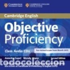 Libros: OBJECTIVE PROFICIENCY CLASS AUDIO CDS (2) 2ND EDITION. Lote 219253820
