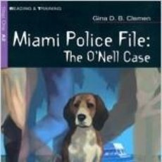 Libros: MIAMI POLICE FILE+CD (A.2). Lote 219253837