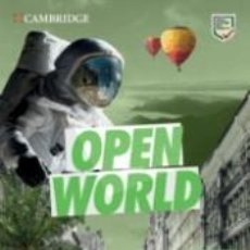 Libros: OPEN WORLD FIRST. WORKBOOK WITH ANSWERS WITH AUDIO DOWNLOAD. Lote 219281397
