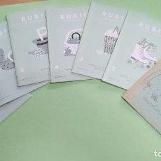 Libros: CUADERNOS RUBIO ESCRITURA DEL 1 AL 7- A ESTRENAR. Lote 219311812
