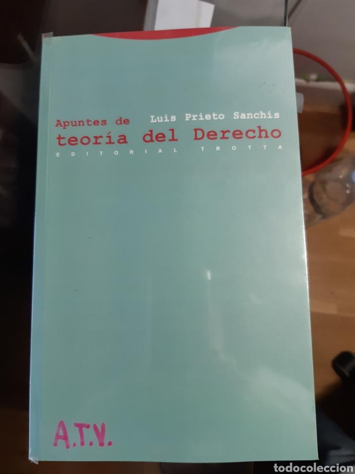 APUNTES DE TEORÍA DEL DERECHO.LUIS PRIETO SANCHIS (Libros Nuevos - Libros de Texto - Ciclos Formativos - Grado Superior)