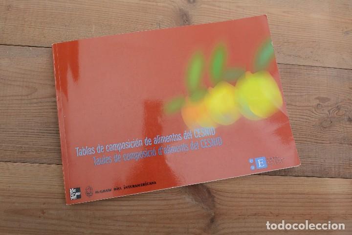 TABLAS DE COMPOSICIÓN DE ALIMENTOS DEL CESNID MCGRAW-HILL INTERAMERICANA 2010 (Libros Nuevos - Libros de Texto - Ciclos Formativos - Grado Superior)