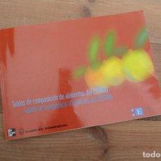 Libros: TABLAS DE COMPOSICIÓN DE ALIMENTOS DEL CESNID MCGRAW-HILL INTERAMERICANA 2010. Lote 220103621