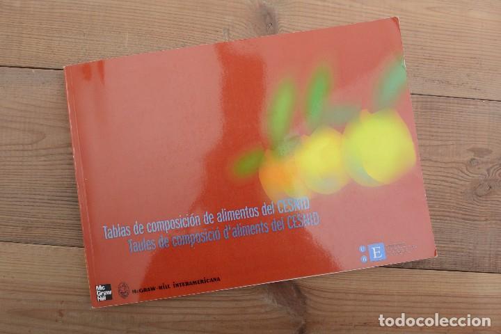 Libros: Tablas de composición de alimentos del CESNID McGraw-Hill interamericana 2010 - Foto 2 - 220103621