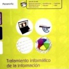 Libros: TRATAMIENTO INFORMÁTICO DE LA INFORMACIÓN. Lote 221260476