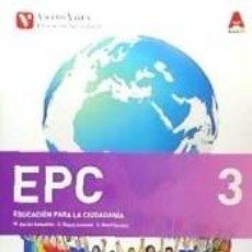 Libros: EPC AND (3¼ ESO EDUCACION PARA LA CIUDADANIA). Lote 221531151