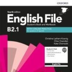 Libros: ENGLISH FILE 4TH EDITION B2.1. STUDENTS BOOK AND WORKBOOK WITHOUT KEY PACK. Lote 221531185