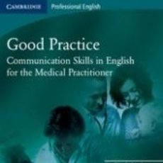 Libros: GOOD PRACTICE ST COMMUNICATION SKILLS. Lote 221537732