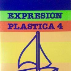 Libros: EXPRESIÓN PLÁSTICA 4º EGB. SANTILLANA. NUEVO. Lote 221544573