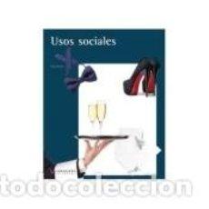 Libros: USOS SOCIALES. Lote 221554158