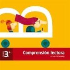 Libros: COMPRENSIÓN LECTORA, 3º PRIMARIA : FICHAS DE TRABAJO. Lote 221640810
