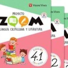 Libros: LENGUA 4 (4.1-4.2-4.3) ZOOM. Lote 221669318