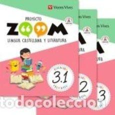 Libros: LENGUA 3 (3.1-3.2-3.3) ZOOM. Lote 221669356