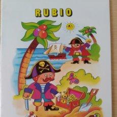 Libros: RUBIO ESCRITURA N 1. NUEVO. Lote 222195721