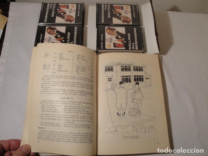Libros: Libro y casetes originales (4): Calling all Beginers. Curso de Inglés. Editorial Alhambra, 1971. - Foto 4 - 222261165