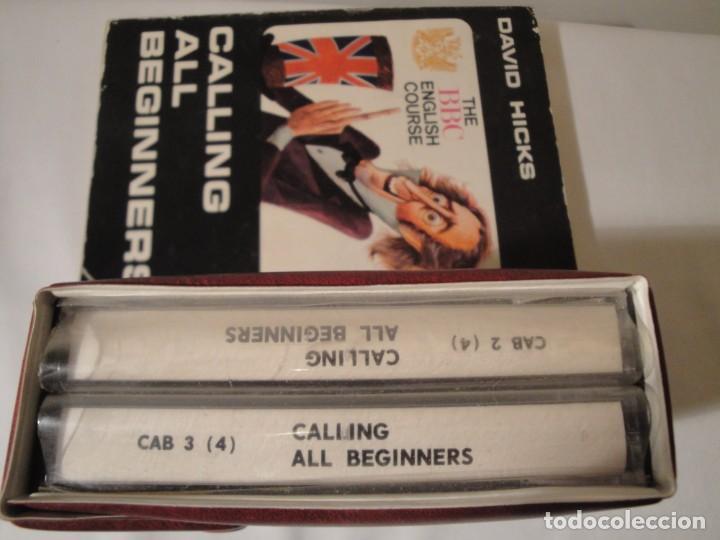 Libros: Libro y casetes originales (4): Calling all Beginers. Curso de Inglés. Editorial Alhambra, 1971. - Foto 7 - 222261165