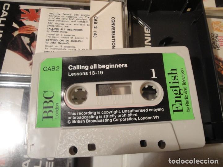 Libros: Libro y casetes originales (4): Calling all Beginers. Curso de Inglés. Editorial Alhambra, 1971. - Foto 9 - 222261165