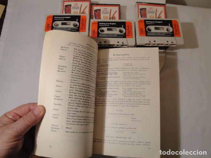 Libros: Libro y casetes originales (3): Getting on in English. Curso de Inglés. Editorial Alhambra, 1971. - Foto 5 - 222262946