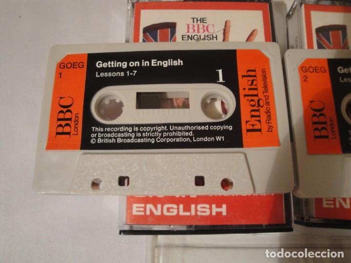 Libros: Libro y casetes originales (3): Getting on in English. Curso de Inglés. Editorial Alhambra, 1971. - Foto 7 - 222262946