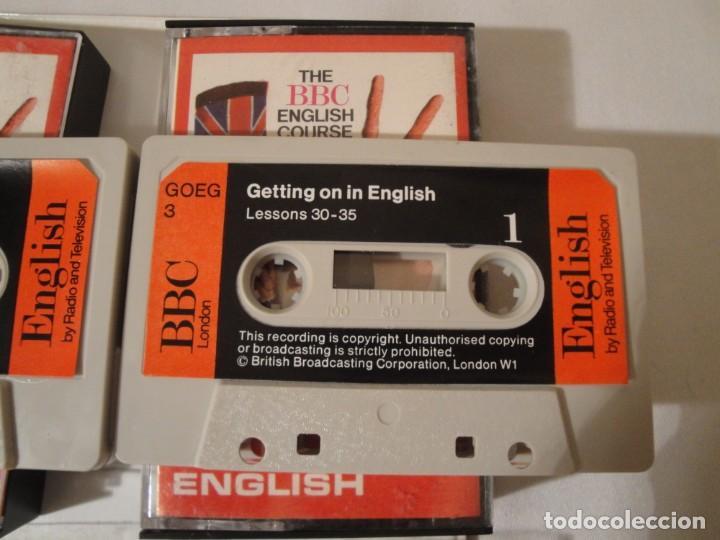 Libros: Libro y casetes originales (3): Getting on in English. Curso de Inglés. Editorial Alhambra, 1971. - Foto 9 - 222262946