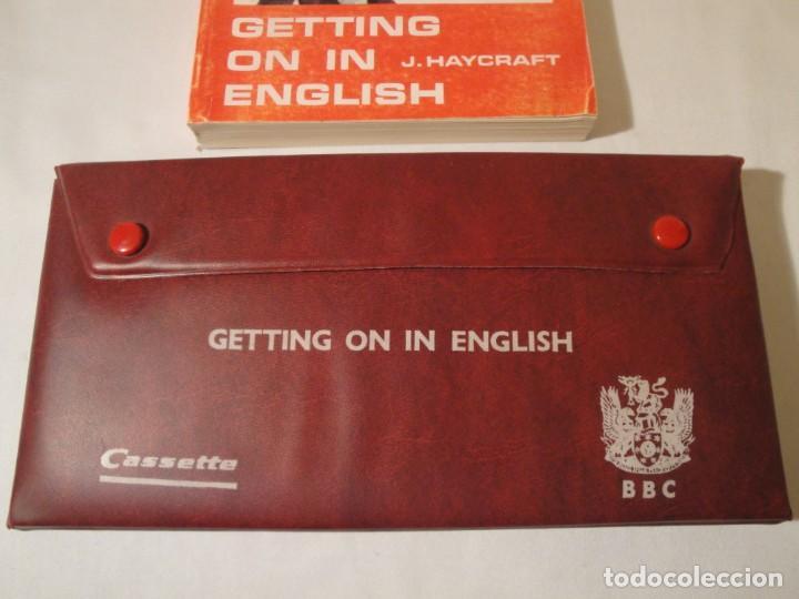 Libros: Libro y casetes originales (3): Getting on in English. Curso de Inglés. Editorial Alhambra, 1971. - Foto 10 - 222262946