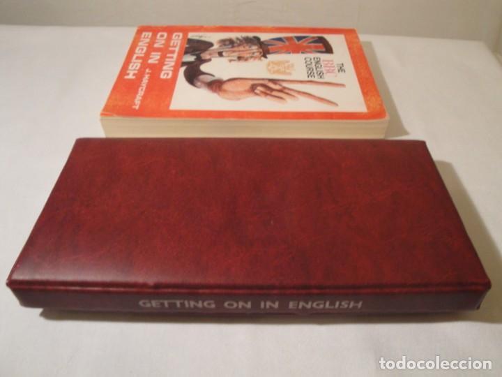 Libros: Libro y casetes originales (3): Getting on in English. Curso de Inglés. Editorial Alhambra, 1971. - Foto 11 - 222262946