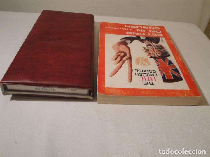 Libros: Libro y casetes originales (3): Getting on in English. Curso de Inglés. Editorial Alhambra, 1971. - Foto 12 - 222262946