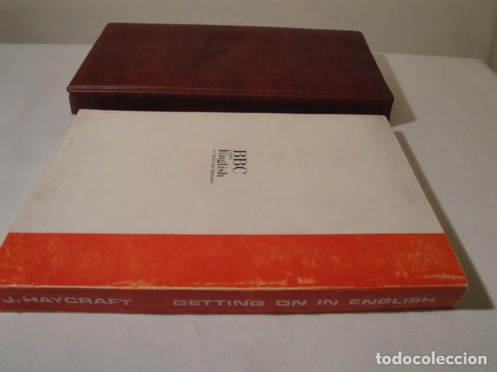 Libros: Libro y casetes originales (3): Getting on in English. Curso de Inglés. Editorial Alhambra, 1971. - Foto 13 - 222262946