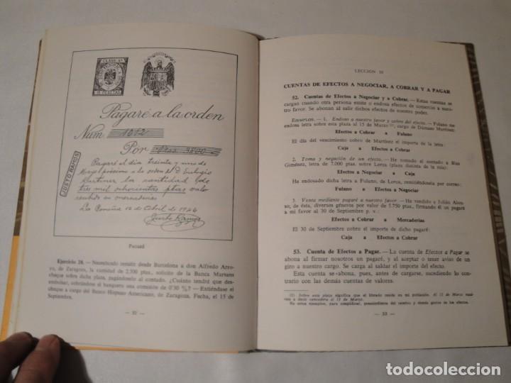 Libros: Teneduría. Primer Grado. Por partida doble. Editorial Luis Vives. Edición 1969. - Foto 4 - 222268523