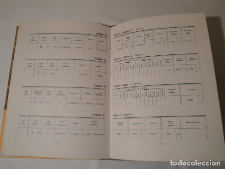 Libros: Teneduría. Primer Grado. Por partida doble. Editorial Luis Vives. Edición 1969. - Foto 5 - 222268523