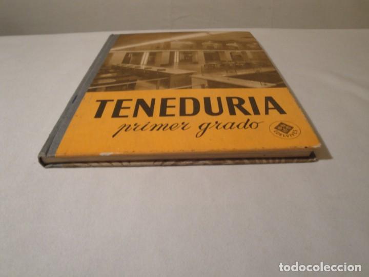 Libros: Teneduría. Primer Grado. Por partida doble. Editorial Luis Vives. Edición 1969. - Foto 8 - 222268523