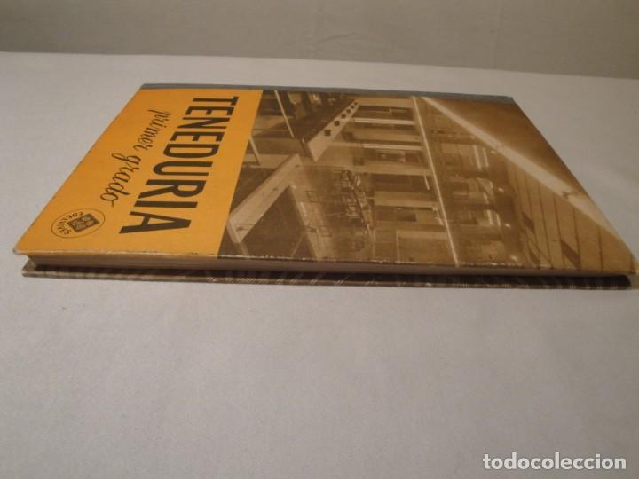Libros: Teneduría. Primer Grado. Por partida doble. Editorial Luis Vives. Edición 1969. - Foto 9 - 222268523