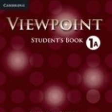 Libros: VIEWPOINT LEVEL 1 STUDENTS BOOK A. Lote 222526787