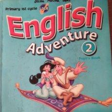 Livros: ENGLISH ADVENTURE 2 PUPLI,S BOOK PRIMARY 1ST CYCLE CRISTIANA BRUNI. Lote 223206051