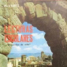Libros: LECTURAS ESCOLARES 7º EGB. ALVAREZ. MIÑON. ORIGINAL AÑO 1970. SIN USAR. Lote 223622031