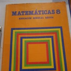 Libros: LIBRO MATEMÁTICAS 8 SANTILLANA. Lote 225017005