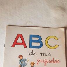 Libros: PRECIOSA CARTILLA ABC DE MIS JUGUETES LIBRERIA CAMI. Lote 225058810