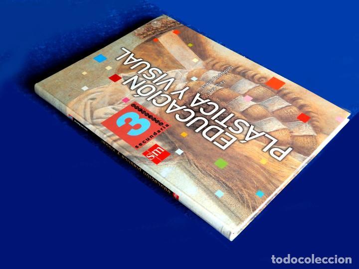 Libros: EDUCACIÓN PLÁSTICA Y VISUAL - SECUNDARIA 3 - POR, I. RODRÍGUEZ Y E. DIEZ - SM - NUEVO - Foto 2 - 225130452